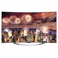 LG 65EC970T Curved Smart OLED TV - 65 Inch - With TV Stand