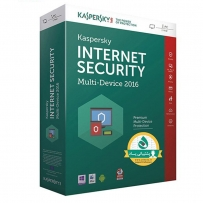 Kaspersky Internet security Multi Device 2016, 1+1 Users, 1 Year Security Software